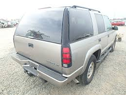 used parts 2000 chevrolet tahoe z71 4x4 5 7l vortec 5700