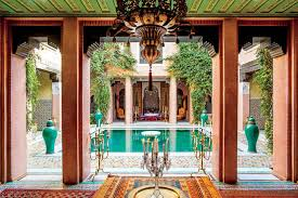 moroccan riad floor plan countess marta marzotto in her moroccan home wsj