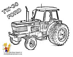free printable tractor coloring pages funycoloring