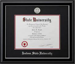 14x17 diploma frame college diploma frames jostens