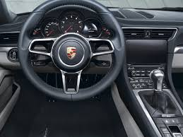 new porsche 911 interior new 2017 porsche 911 price photos reviews safety ratings
