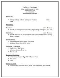resume examples templates best 10 college application resume