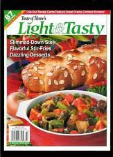 light and tasty magazine subscription light in magazine back issues ebay