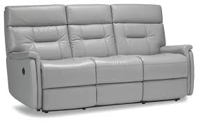 Gray Leather Reclining Sofa Innovative Grey Leather Reclining Sofa Gray Leather
