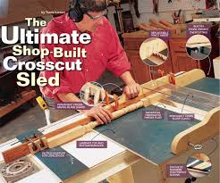 table saw guard plans how to build a crosscut sled free diy crosscut sled project
