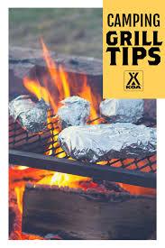camping grill tips koa camping