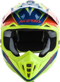 yellow motocross helmet acerbis impact 3 0 motocross helmet helmets offroad blue yellow