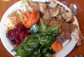 thanksgiving dinner plates weliketheworld