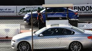 lexus of adelaide lexus isf vs bmw 335 turbo super street drags adelaide