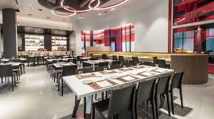 Italian Furniture Los Angeles Ca Drago Ristorante Drives Into Petersen Automotive Museum With
