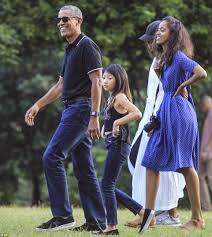 32 photos barack obama sa femme et leurs deux filles en