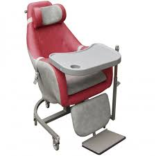 siege coquille siège coquille avec tablette escamotable coloris framboise gris
