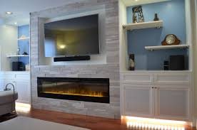 convert wood fireplace to electric binhminh decoration