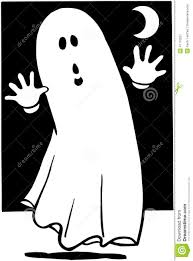 ghost halloween cartoon design vector clipart stock vector image