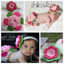 flower headband wonderful diy crochet cover and flower headband set