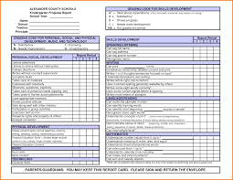 Personal Expense Report by 4 Kindergarten Report Card Template Expense Report