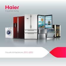 haier uk white goods brochure 2011 2012 haier pdf catalogues