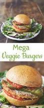 recipe mega veggie burgers from jamie oliver u0027s everyday super