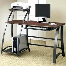 Computer Glass Desks For Home Small Glass Desk Stunning Glass Computer Desk Corner Refreshing