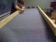 carpet ball table plans youth story how to build a carpetball table part 2 carpet ball