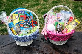 filled easter baskets boys a healthier easter for your grandchildren 1dental