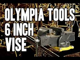 6 Inch Bench Vise Olympia Tools 6