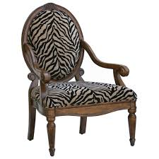 Zebra Accent Chair And Black Zebra Print Chenille Accent Chair Dcg Stores