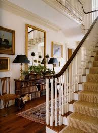 Entry Stairs Design Love This Foyer Texture On Stairs With Older Persian Rug Plants