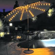offset patio umbrella with led lights patio umbrella solar lights corliving with power led gemmy home