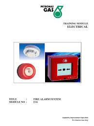 module no e16 fire alarm system smoke detector radio