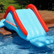 swimline super slide inflatable water slide inflatable pool toys