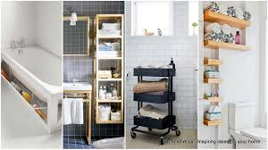 Bathroom Storage Idea Homesthetics Magazine Architecture Art Design