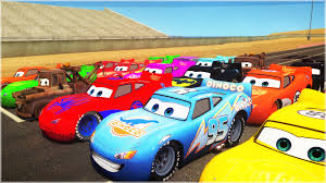 awesome mcqueen cars race disney pixar dinoco mater ramone