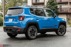 jeep trailhawk 2015 jeep renegade trailhawk review u2013 gimmicky nostalgia