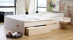 Ikea Ganzes Schlafzimmer Schubkasten Doppelbett Aus Buche Oder Kiefer Bett Norwegen