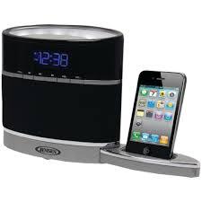 clock radio with night light jensen jims 185i iphone r ipod r docking alarm clock radio with
