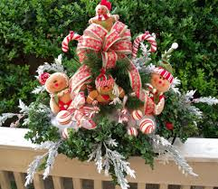 large christmas floral arrangement christmas by luxewreaths