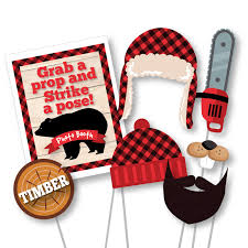 props for photo booth lumberjack photo booth props photobooth props lumberjack and