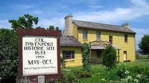 colonel davenport house enjoy illinois