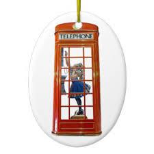 phone box ornaments keepsake ornaments zazzle