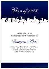 graduation announcement exles free printable graduation invitations 2014 blue silver printable