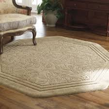 home wexford washable octagonal rug