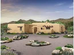 southwest house plans innovational ideas 11 adobe southwestern house plans eplans plan