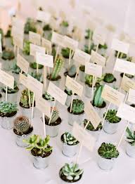Table Setting Cards - unique wedding table decor