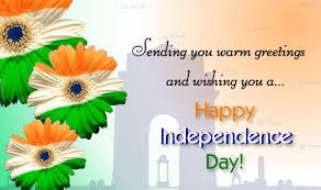 sending you warm greetings and wishing you a happy independence day