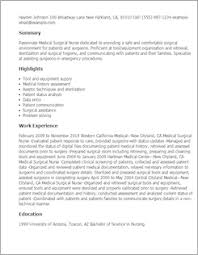 Medical Resume Sample Medical Resume Templates To Impress Any Employer Livecareer