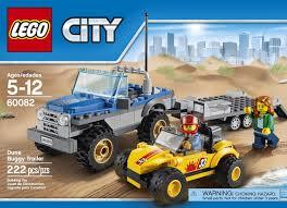 lego city jeep klocki mała terenówka z przyczepką lego city 60082 nieaktywne