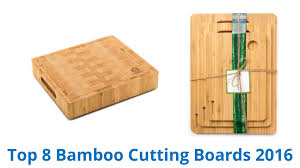 8 best bamboo cutting boards 2016 youtube