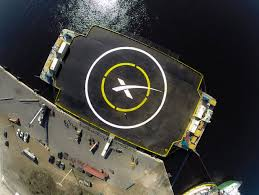 ships deployed into the atlantic for experimental rocket landing