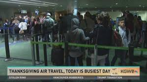 kgw busy pdx on day before thanksgiving